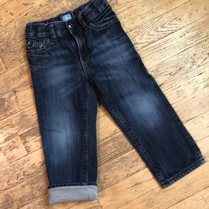 BabyGap jersey lined jeans . 3T